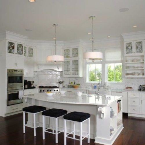 kitchen remodel contractors renovate kitchen with white cabinets and dark hardwood floors