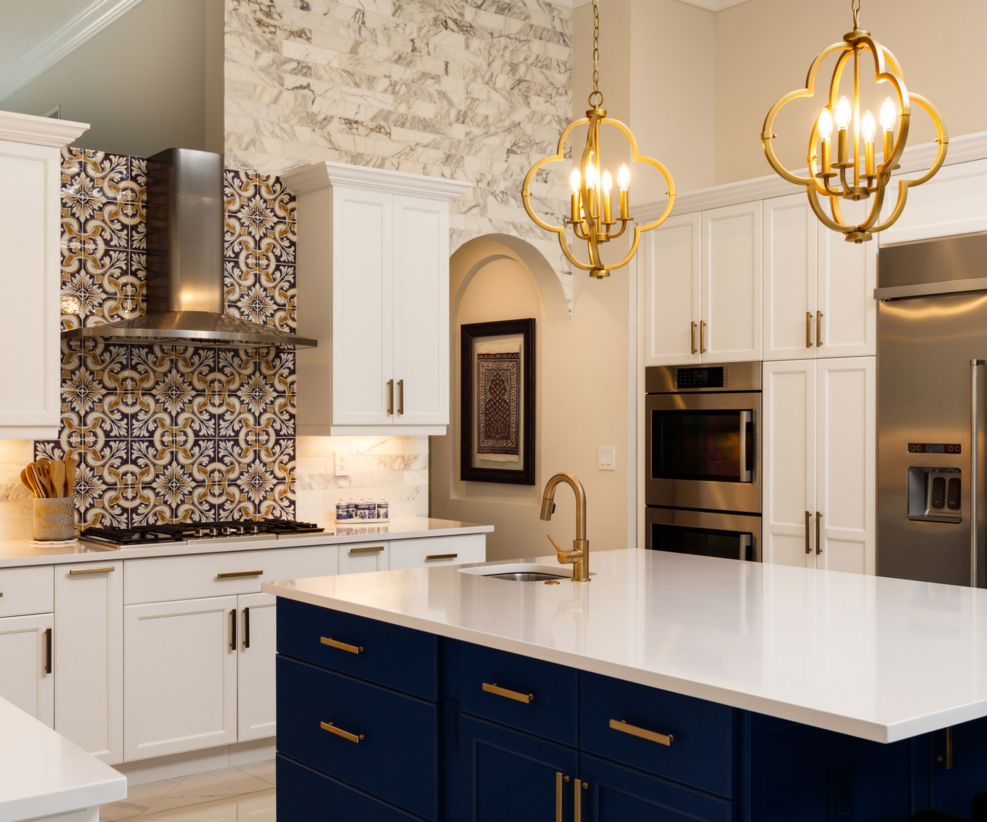 kitchen remodel contractors remodel a new luxury kitchen with white cabinets and colorful backsplash